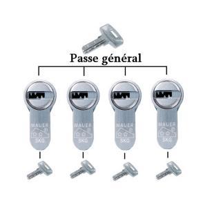 Organigramme Passe Général seul